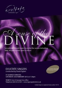 Exultate Singers: A Sense of the Divine